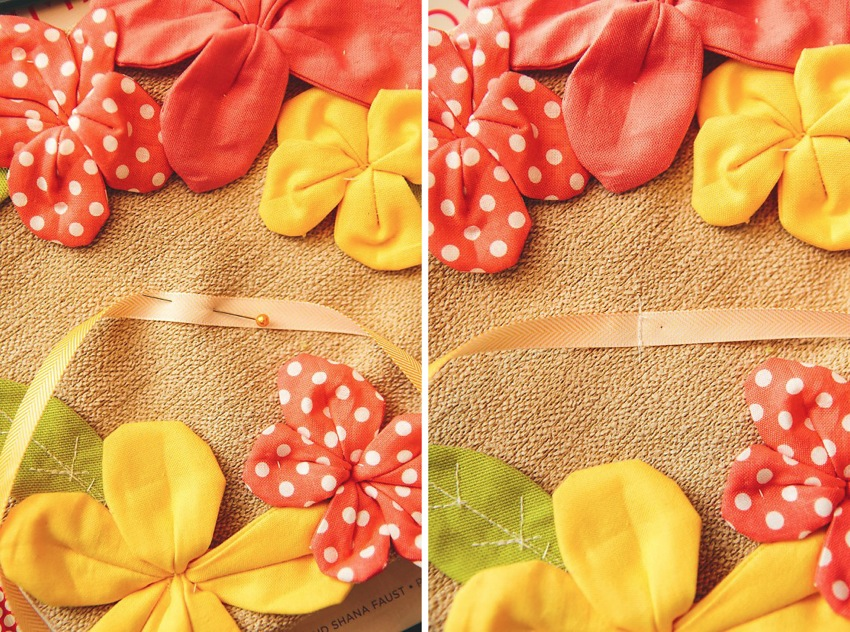 How To Pretty Petal Ring Pillow 040a