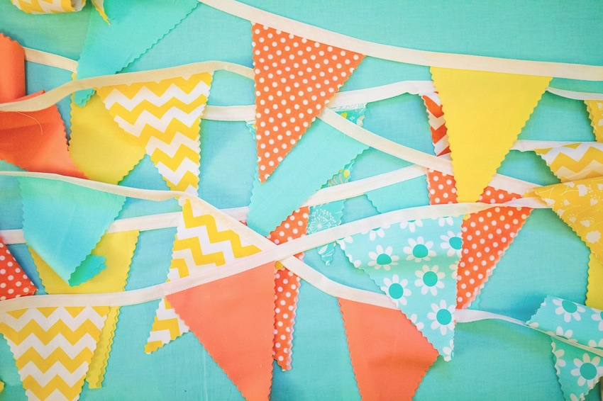 How to Easy Bunting The Goodness  006 3