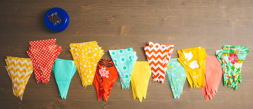 How to Easy Bunting The Goodness  016