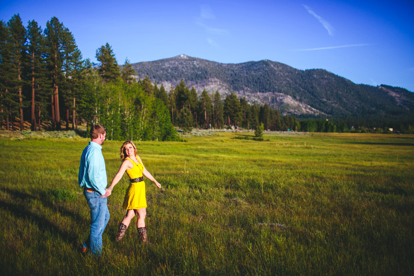 South Lake Tahoe Engagement session 012