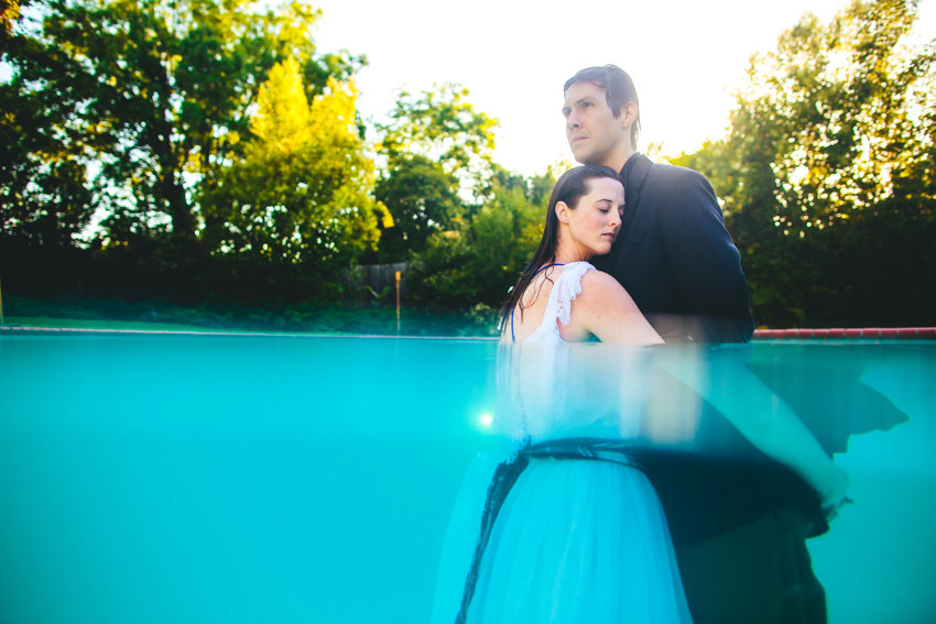 Underwater engagement session 014 photo