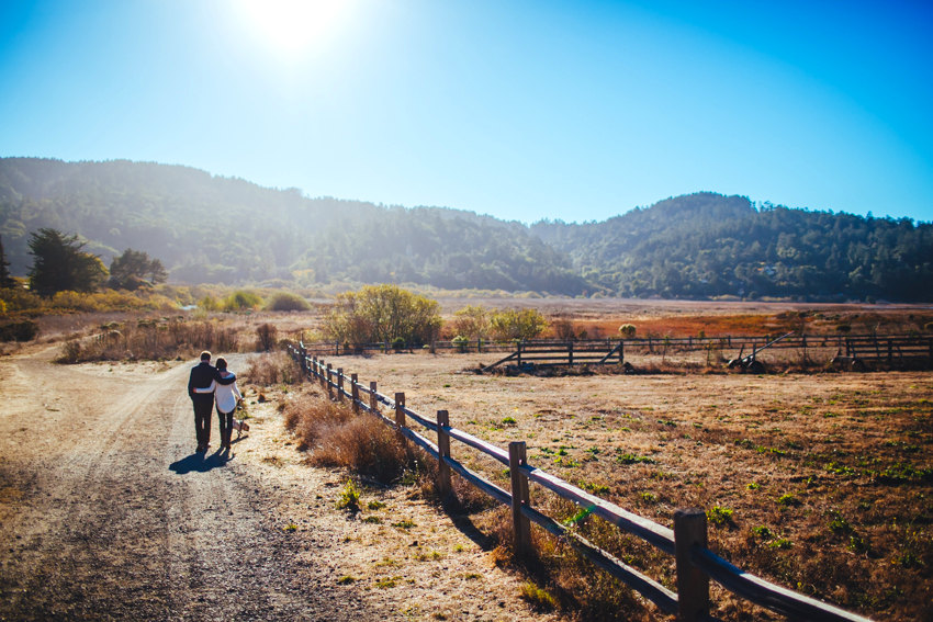 Point Reyes Engagement Session 009 photo