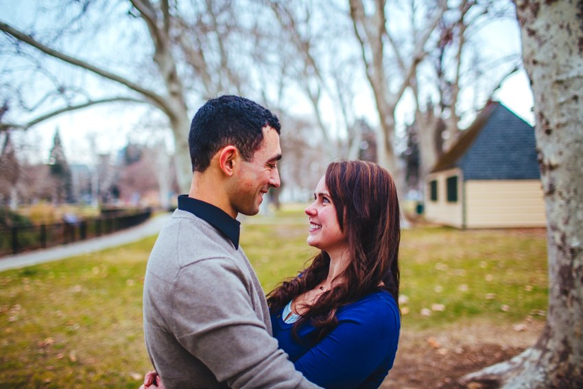 Downtown Sacramento engagement session at home 015