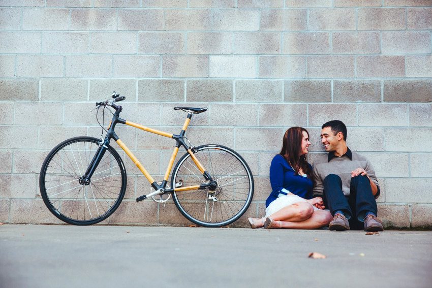 Downtown Sacramento engagement session at home 040