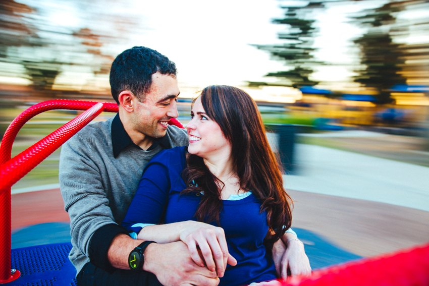 Downtown Sacramento engagement session at home 043
