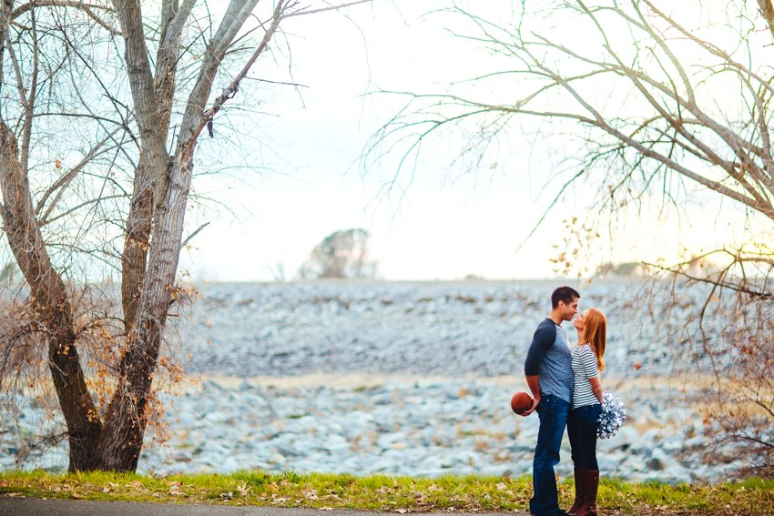 Folsom Lake Engagement Session Drought 025