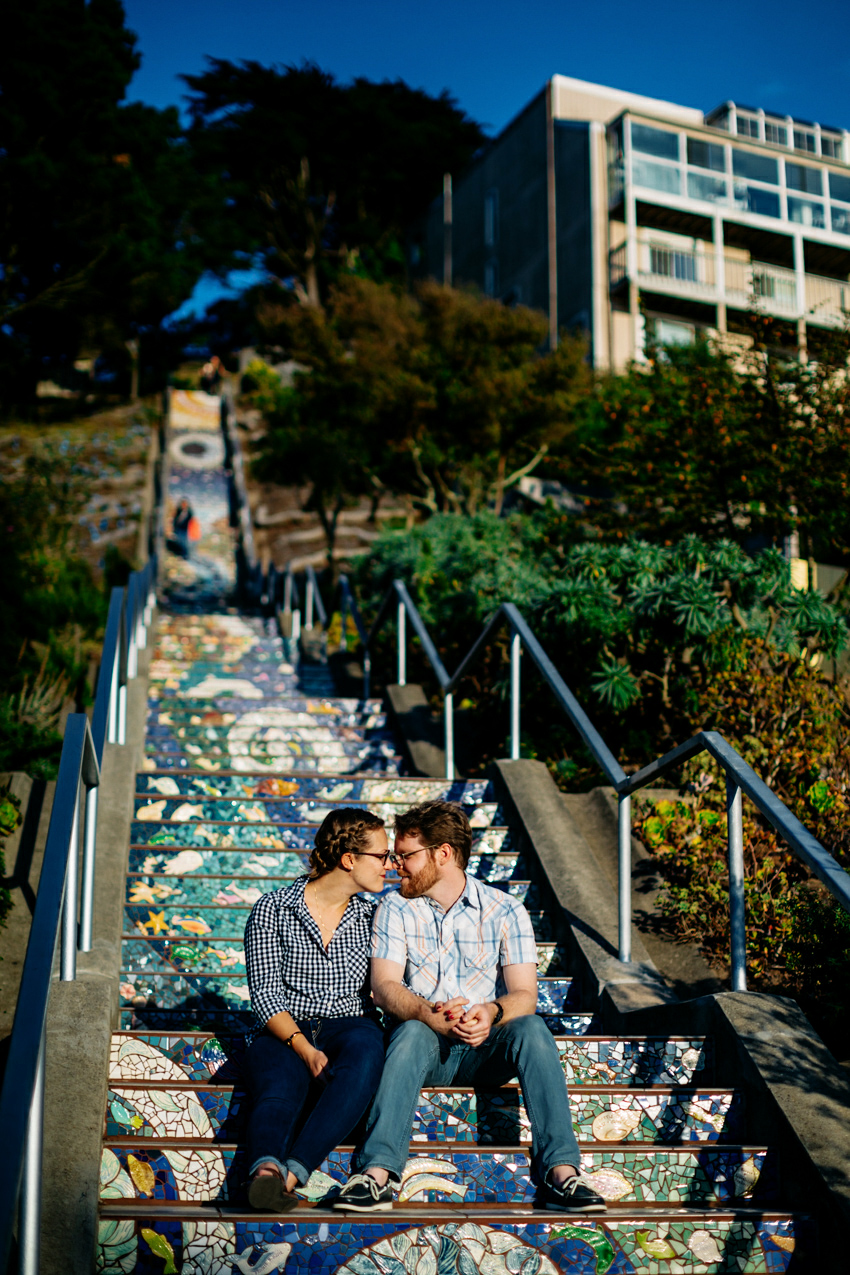 San Francisco Ocean Beach Engagement Session 020 Photo