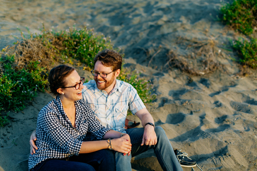 San Francisco Ocean Beach Engagement Session 027 Photo