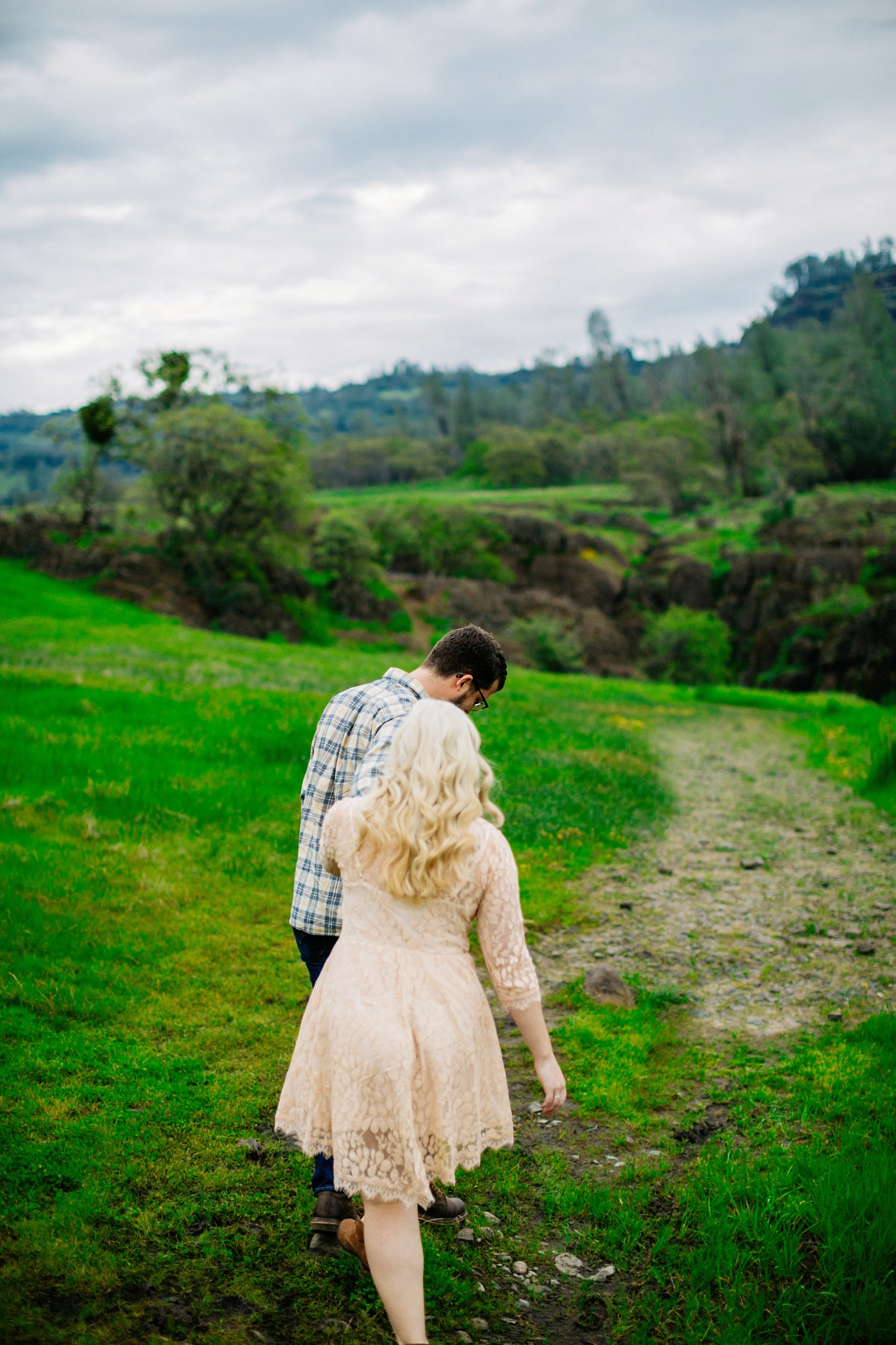 Chico Bidwell Park Engagement session 001 photo