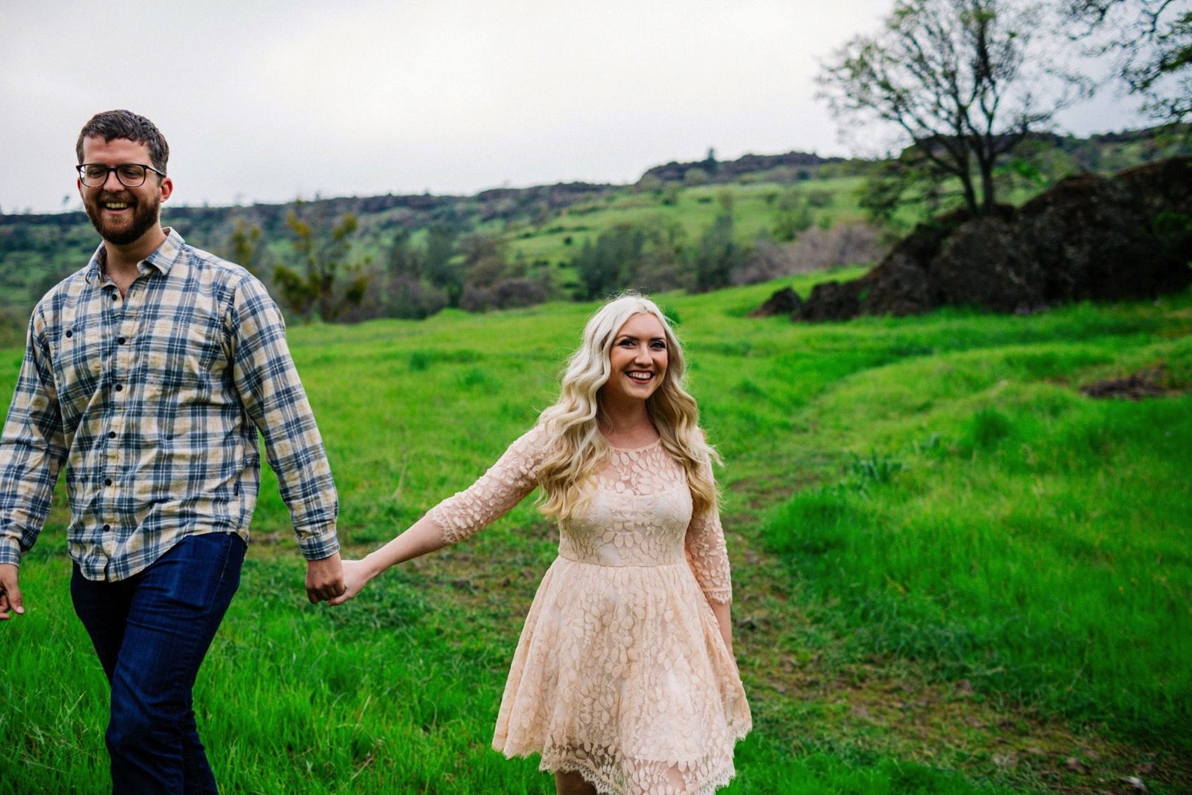 Chico Bidwell Park Engagement session 004 photo