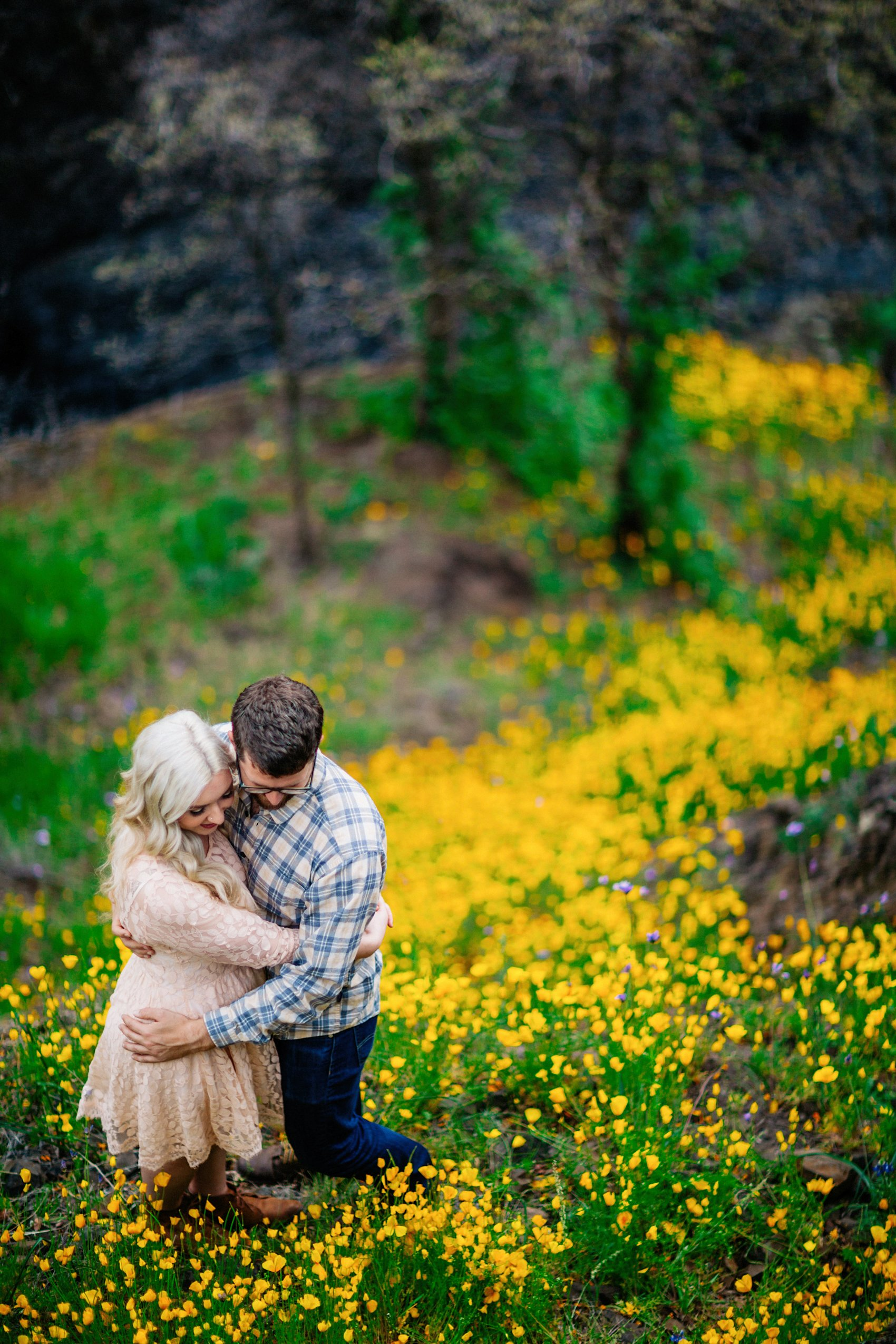 Chico Bidwell Park Engagement session 012 photo