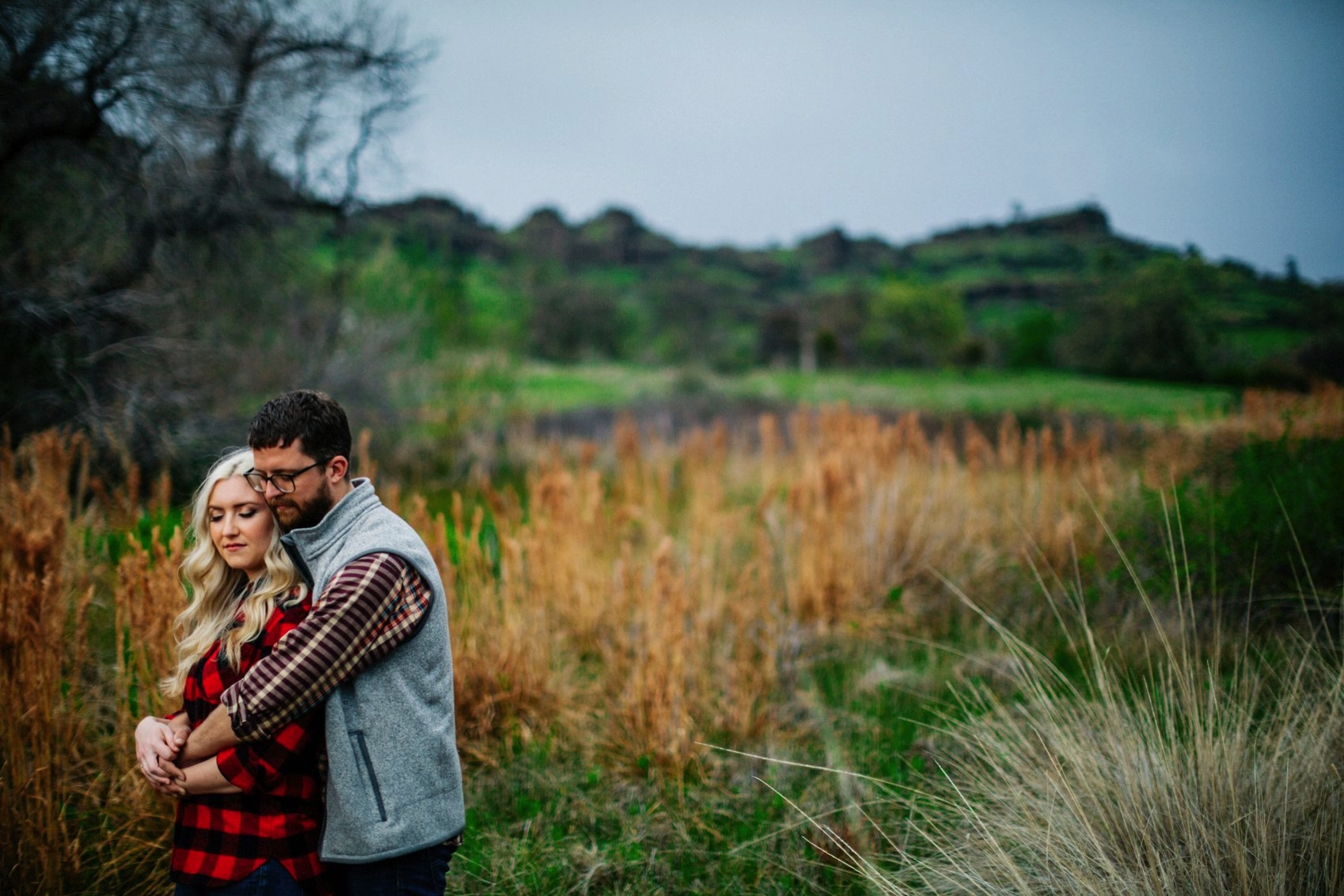 Chico Bidwell Park Engagement session 021 photo