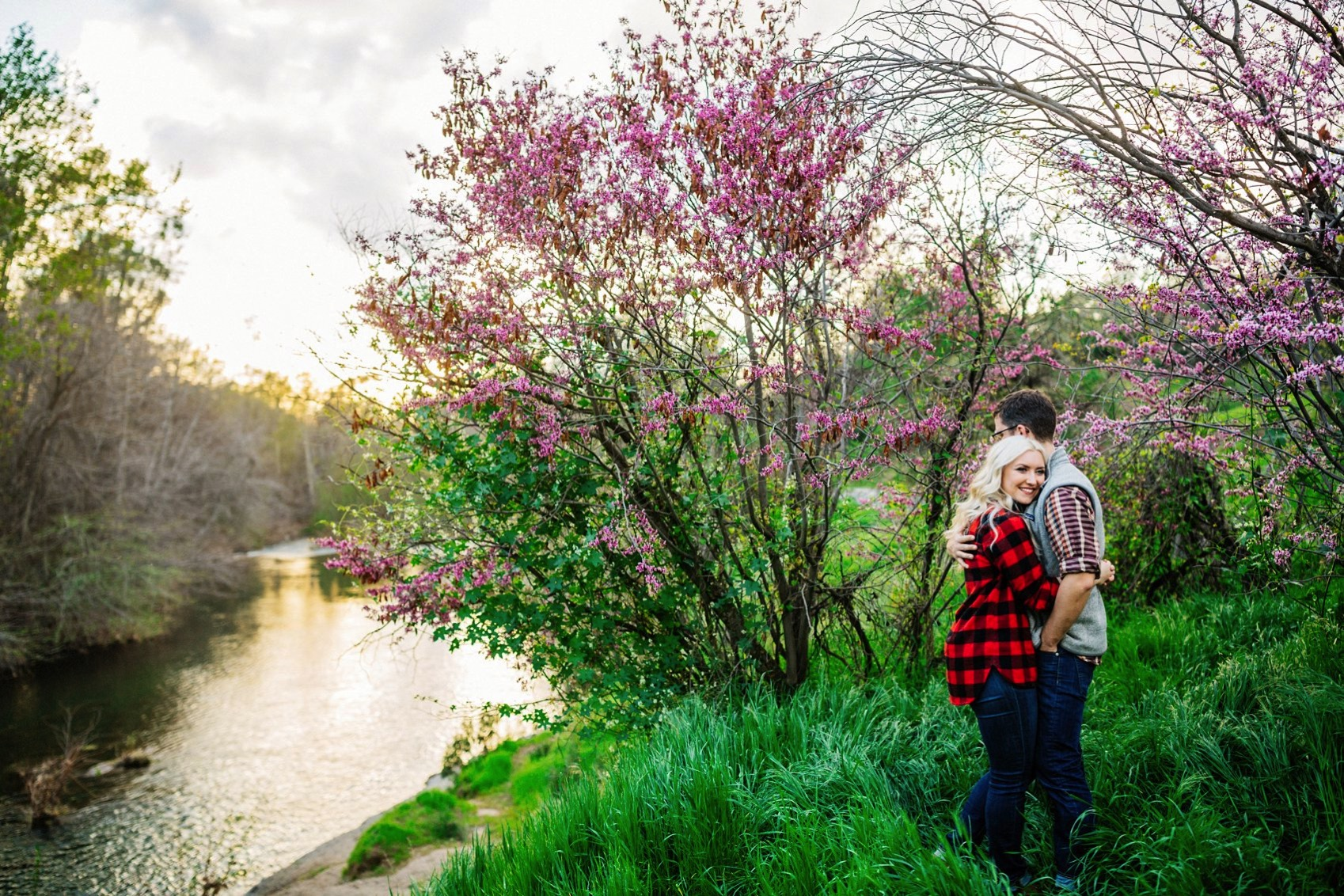 Chico Bidwell Park Engagement session 024 photo