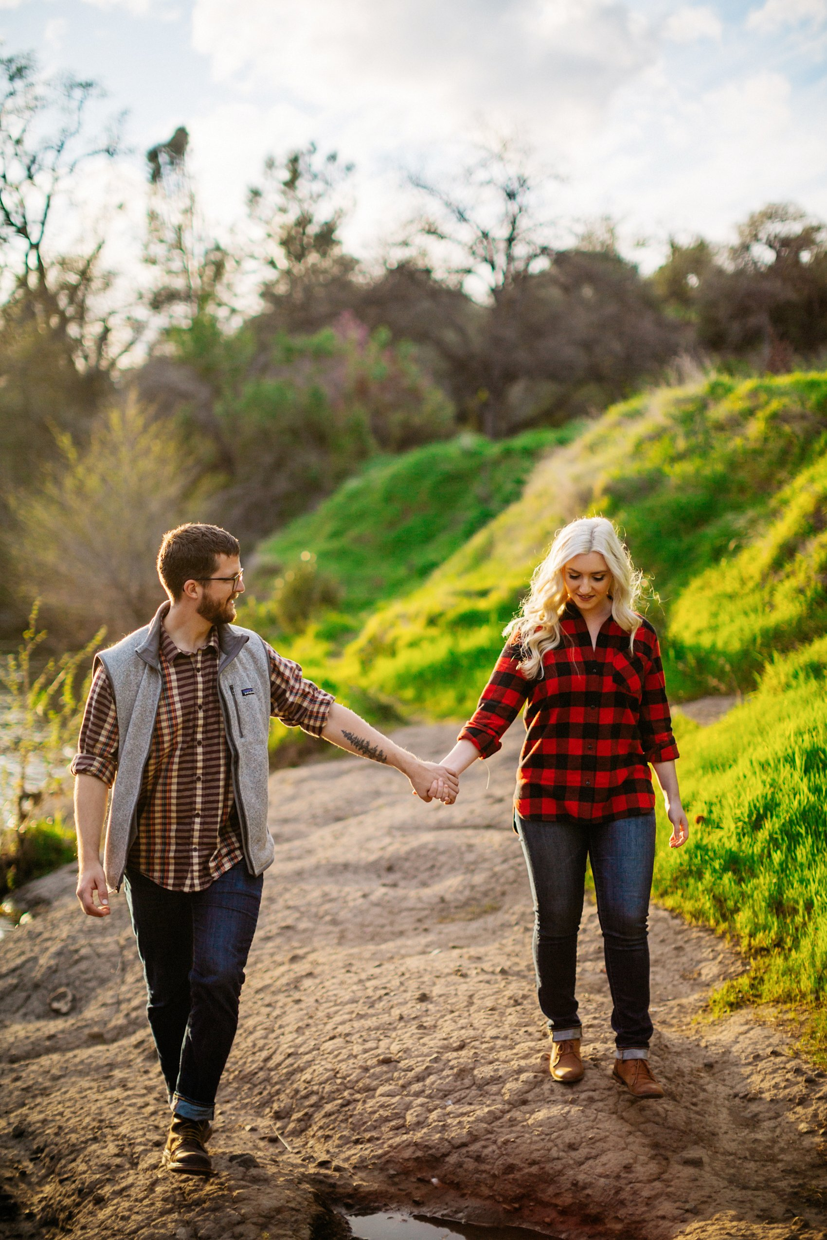 Chico Bidwell Park Engagement session 027 photo