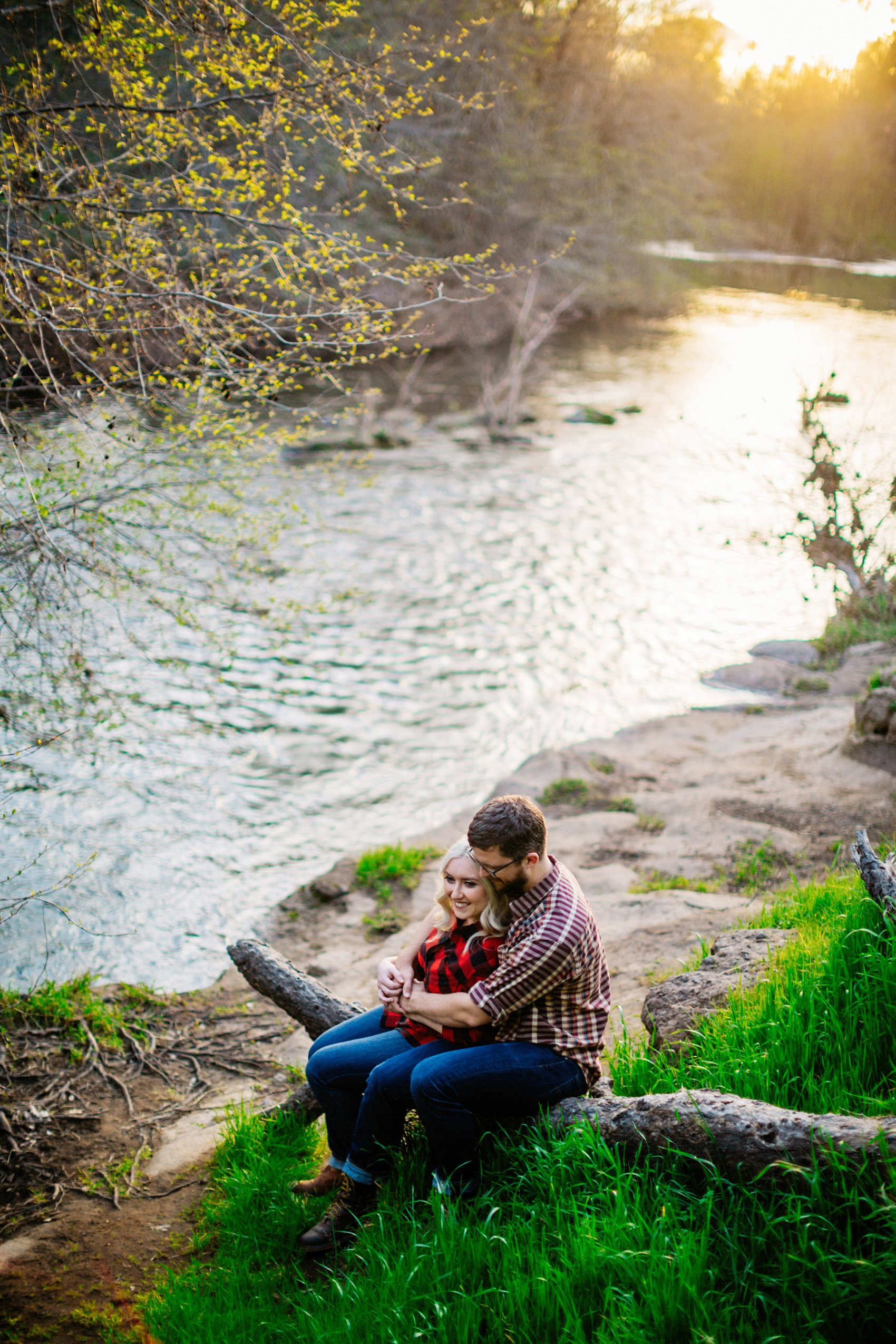 Chico Bidwell Park Engagement session 030 photo