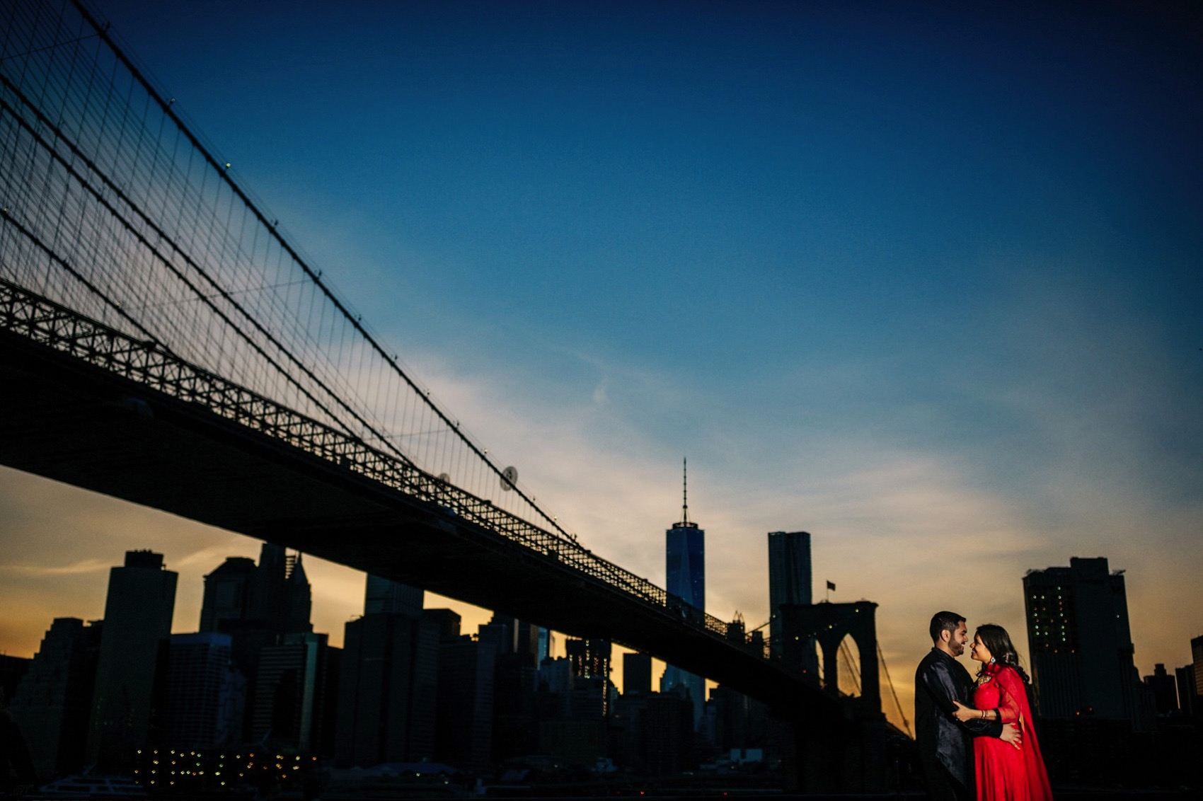 Brooklyn Bridge Park engagement 031 photo