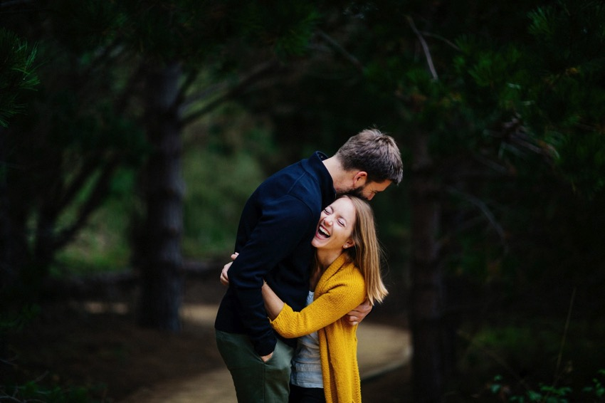 Point Lobos Engagement session 001 photo
