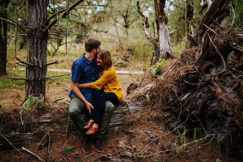 Point Lobos Engagement session 006 photo