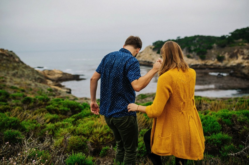 Point Lobos Engagement session 009 photo