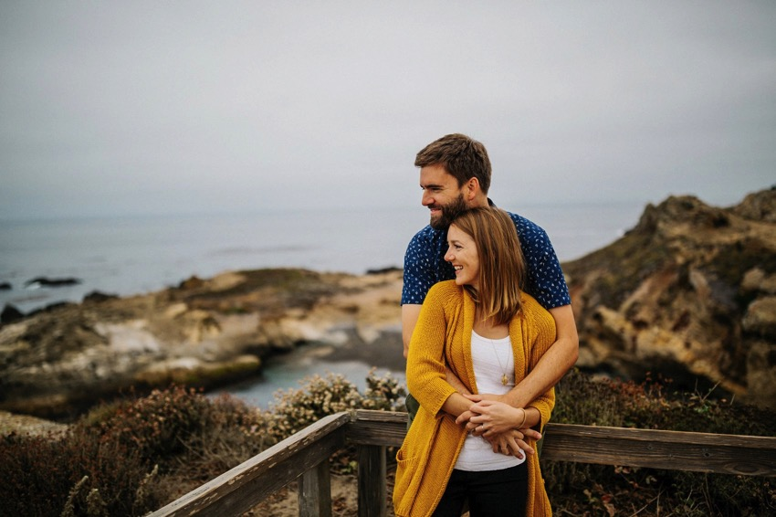 Point Lobos Engagement session 012 photo