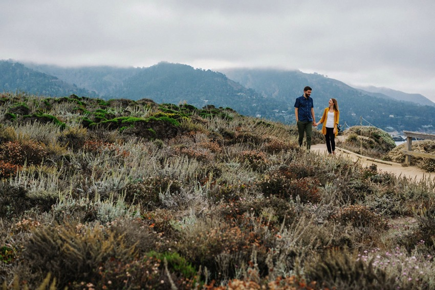 Point Lobos Engagement session 014 photo