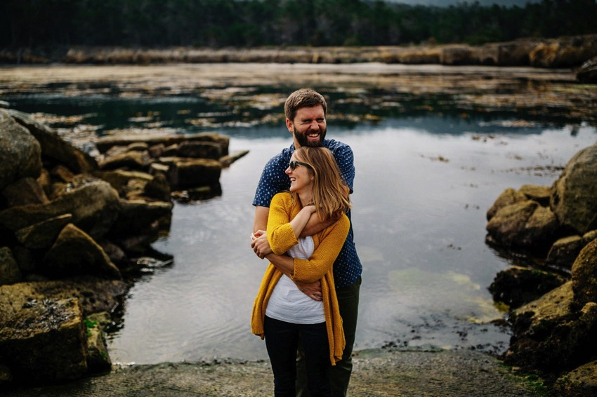 Point Lobos Engagement session 020 photo