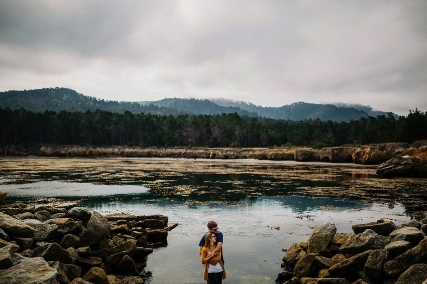 Point Lobos Engagement session 021 photo