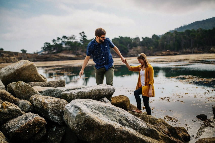Point Lobos Engagement session 023 photo