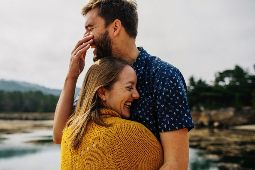 Point Lobos Engagement session 025 photo