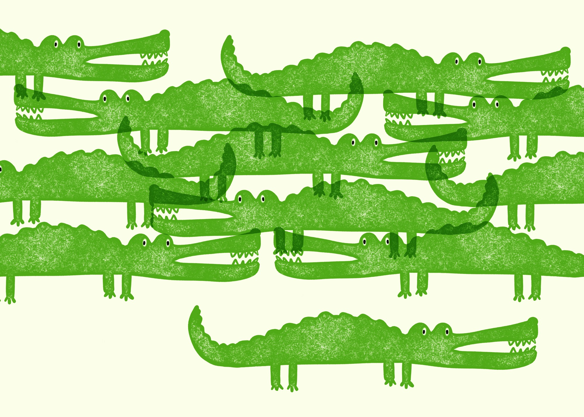 Alligators by Lisa Bardot