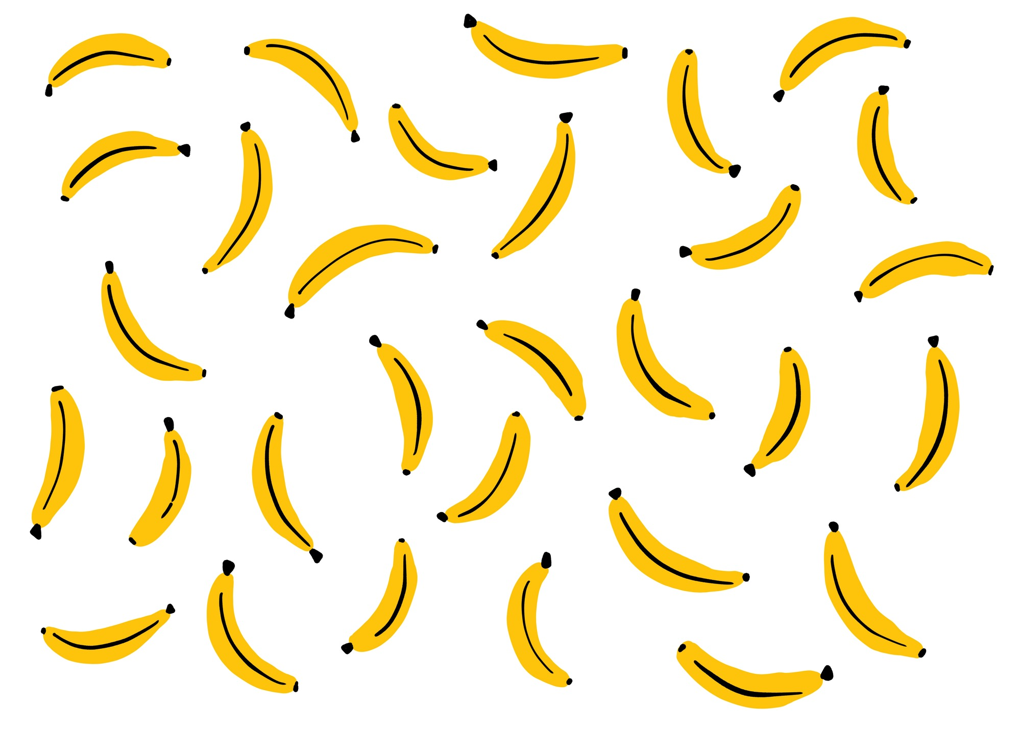 Banana Pattern by Lisa Bardot