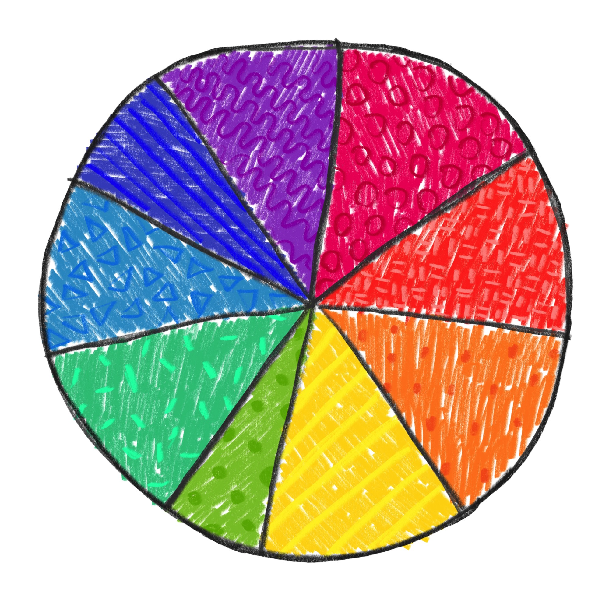 Color Wheel by Lisa Bardot