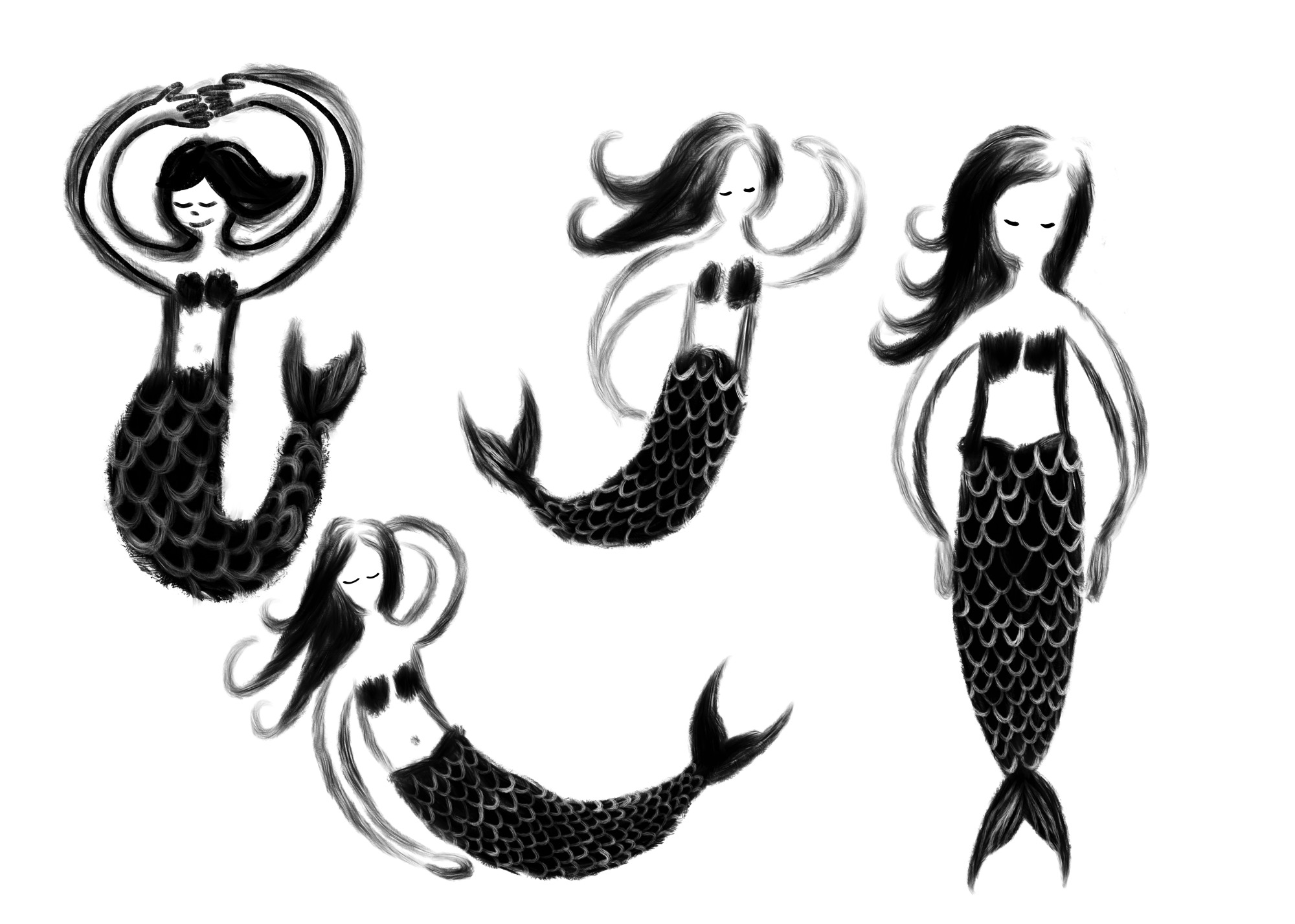 Mermaids by Lisa Bardot