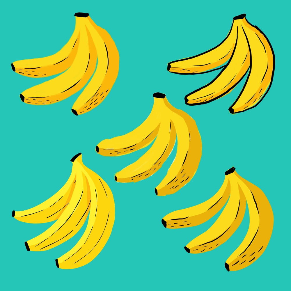 Parctice Bananas by Lisa Bardot